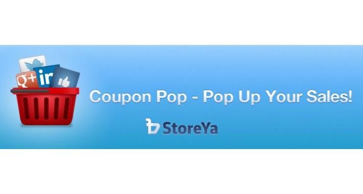 Opencart купоны Pop