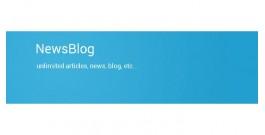 NewsBlog - создания категорий со статьями