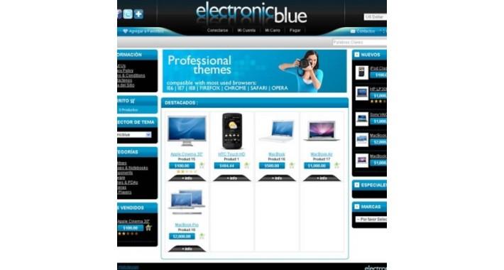 Electronic Blue