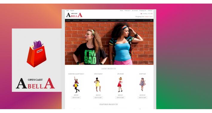 Abella – Free OpenCart Theme