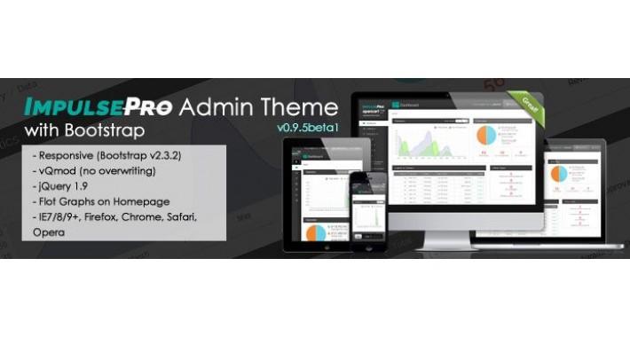 Opencart admin theme - ImpulsePro