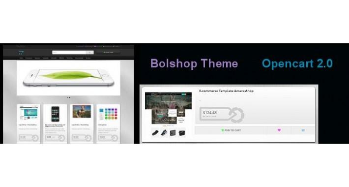 Bolshop Dark Theme